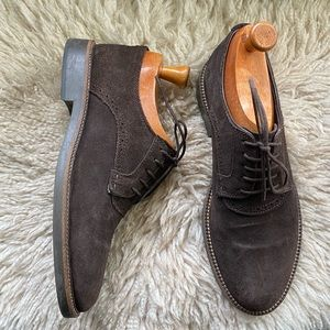 Zara Man 7 Brown suede Oxford shoes